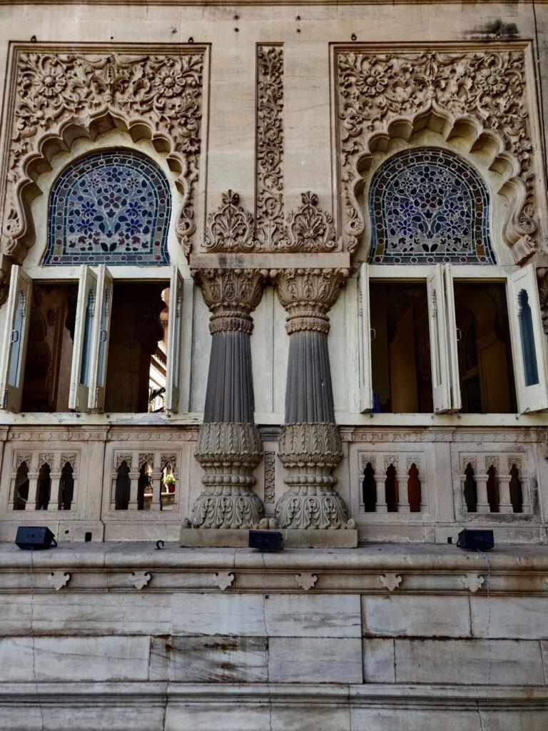 beautiful facade, laxmivilas palace