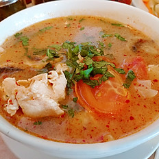 "TY: Hot & Sour Soup ""Tom Yum Goong"""