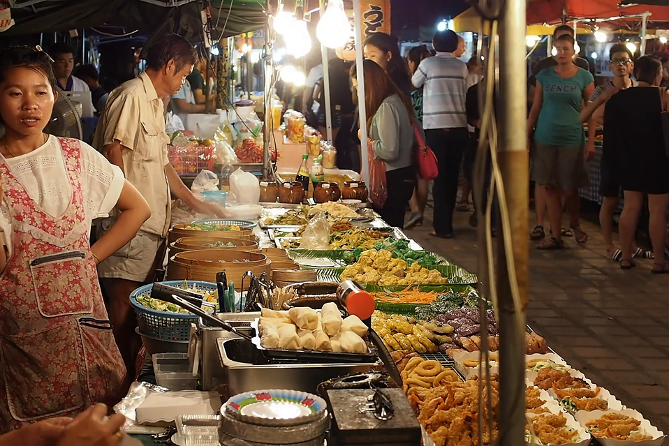 Thailand Bangcock street vender