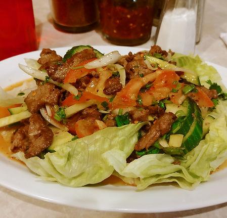 Gaeng Bpah (Green Curry)