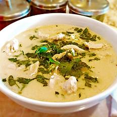 """T-KA: Coconut Soup """"Tom Kha Gai"""""""