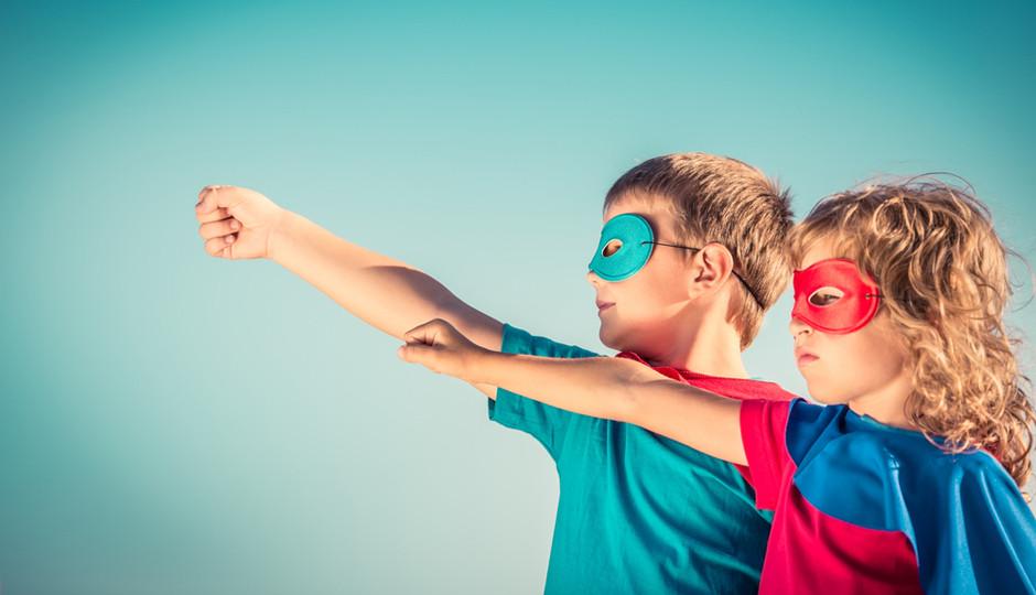 Superhero child Emerald Education Centre