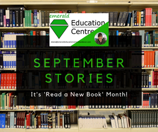 September Stories - It's 'Read A New Book Month'!