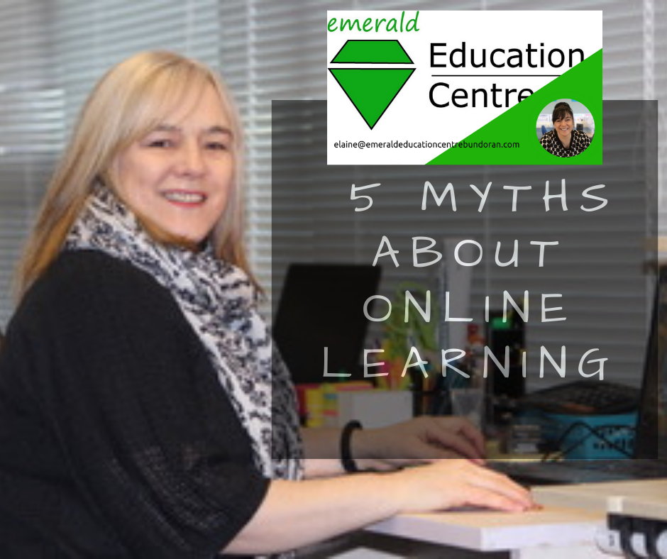 Emerald Education Centre 5 myths about online learning