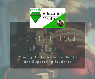 Real Life Jenga in 2020 - Moving the Educational Blocks and Supporting Students