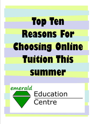 Ten Reasons to Choose Online Tuition This Summer