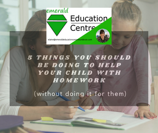 5 Things You Should Be Doing To Help Your Child With Homework (Without Doing it for Them)