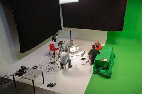 AVbaby Filmstudio von oben