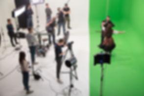 AVbaby Filmstudio Greenscreen Aufnahme Action Shoot