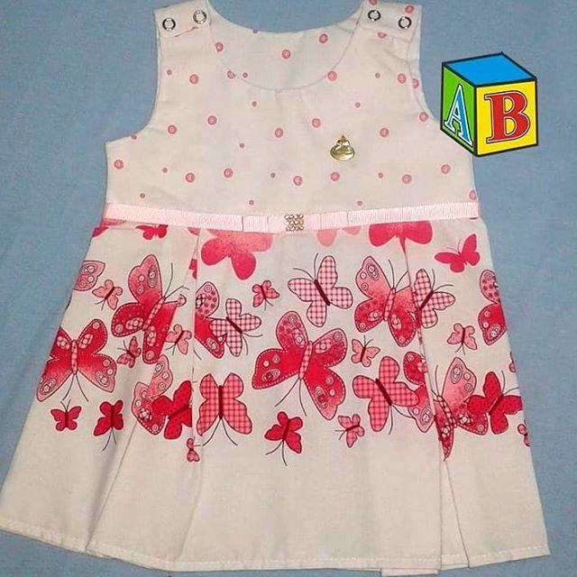 Vestido Para Recém Nascido Moda Neném