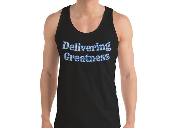 Delivering Greatness Tank w/ Back Logo