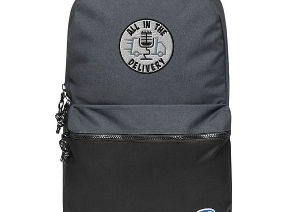 AITD Embroidered Champion Backpack
