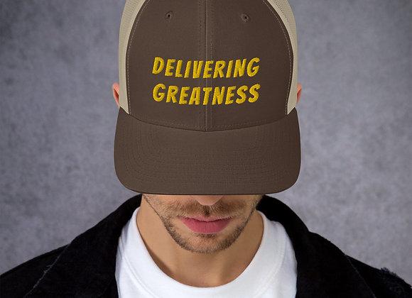 Delivering Greatness Trucker Hat