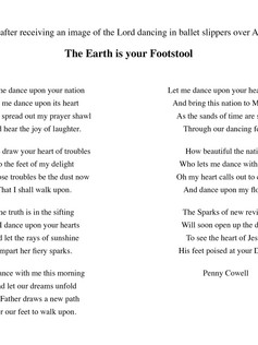 The Earth is Your Footstool