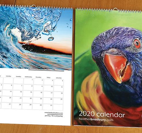 2 x 2018 A3 Wall Calendars