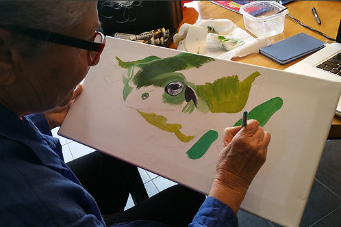 FREE Painting Class - Saturday 13th Jan All ages 2 - 4pm