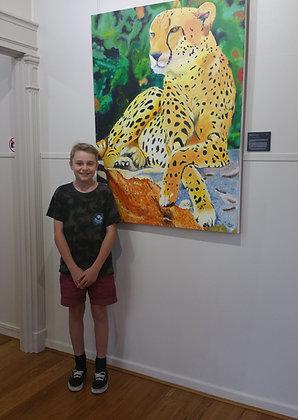 Junior Painting Classes Term 1 - with Heather Bradbury