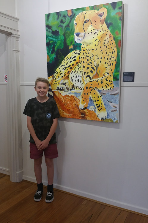 Junior Painting Classes Term 1 - with Heather Bradbury