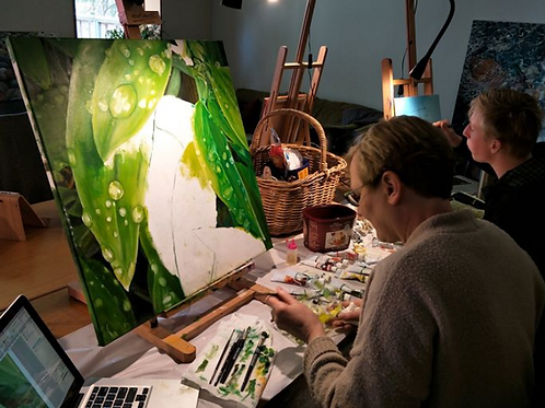 SATURDAY painting Class 10:30 & 1:30pm