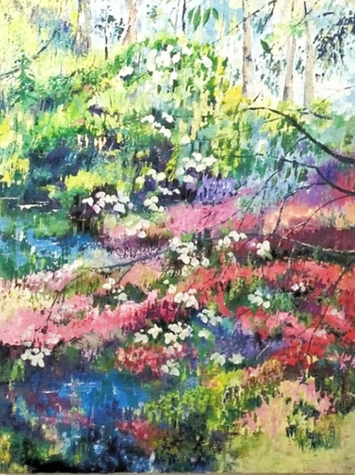 Glynis Brown | Spring in the Rhododendron Gardens