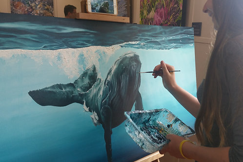 Monday Evening Painting Classes - Term 1 2019 Kapi Art Space