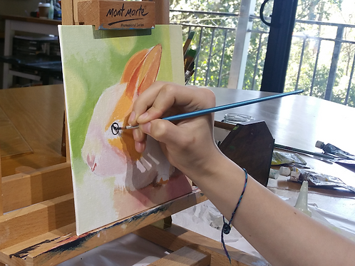 Holiday painting classes for 7-15 yrs: Wed 11th 10:30am with Heather Bradbury