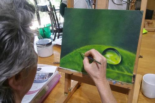 Photo Realistic Oil painting Workshop - Sat 21st September