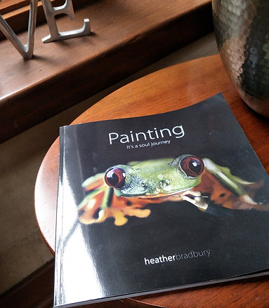 Painting - Its a soul Journey - by Heather Bradbury