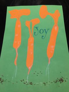 Carroty joy garden