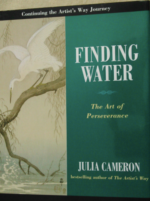Finding Water - 12 week course for those familiar with the Artists Way