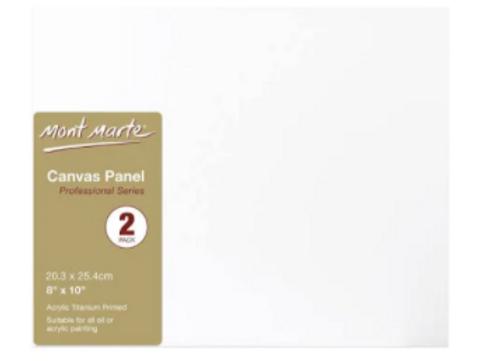 Canvas boards x 2