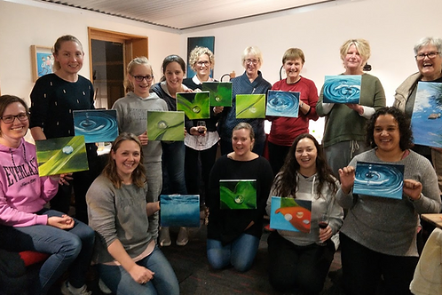 Paint & Pinot 2021 - Last Friday of the month
