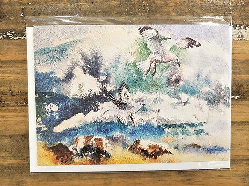 Glynis Brown | Sea gulls