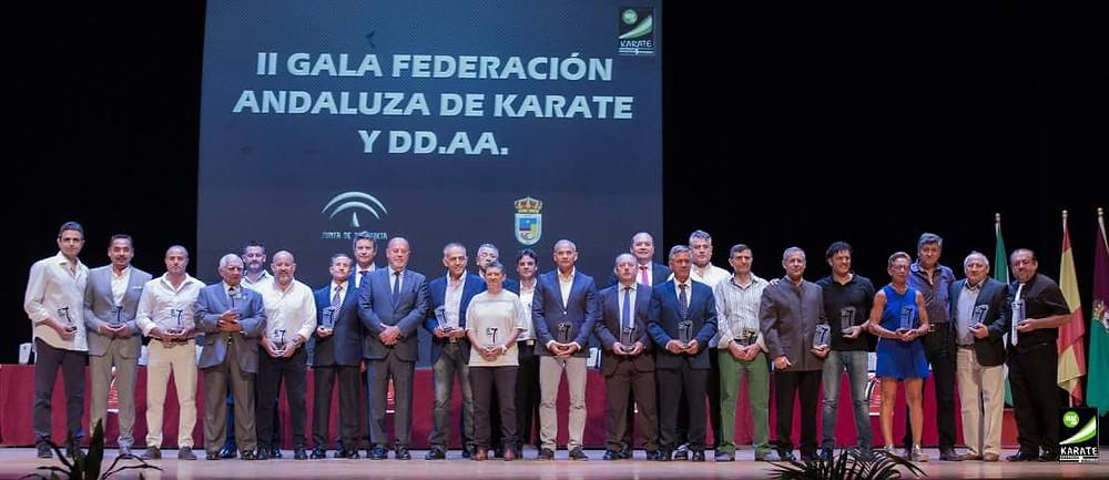 II Gala de la Federación Andaluza de Karate