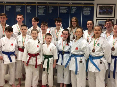 IKKI Ireland Compete at the Ireland Wadokai Karate-Do Renmei International Karate Championships, Sat
