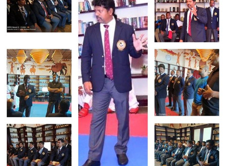 Referee Seminar was held in Sri Lanka Karate Federation