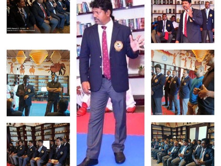 Referee Seminar was held in Sri Lanka Karate Federation