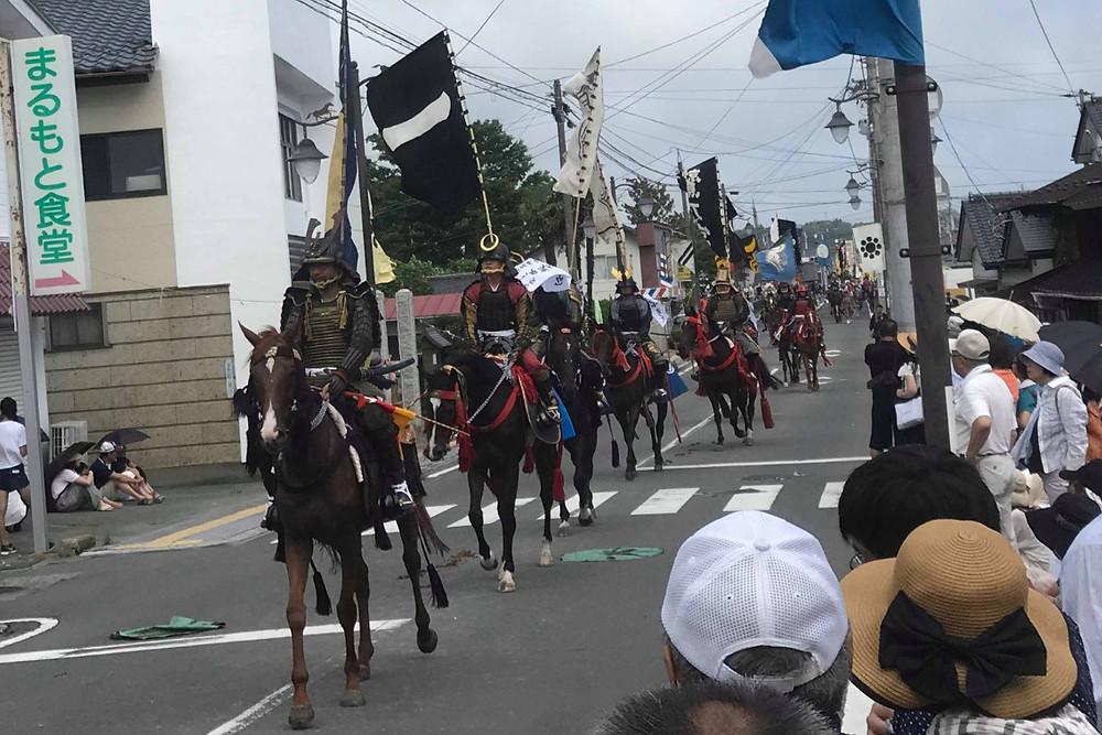 Nomaoi Festival in Soma, Fukushima, Japan