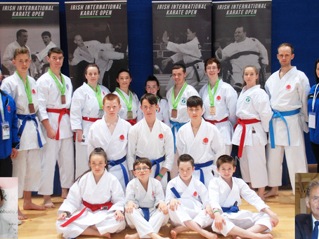 IKKI compete in the Irish International Open