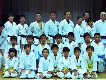 Sensei Ninomiya visited Japan from USA