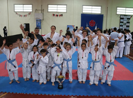 THE 9TH INTER-SCHOOL TOURNAMENT OF KARATE CUP in Argentina
