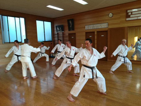 Monthly Black Belt Training was held in IKIF Headquarters