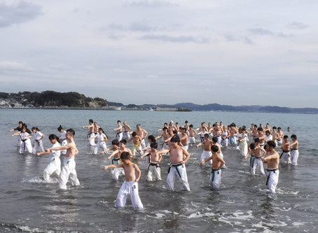 The 59th annual Winter Beach Training was held in Japan