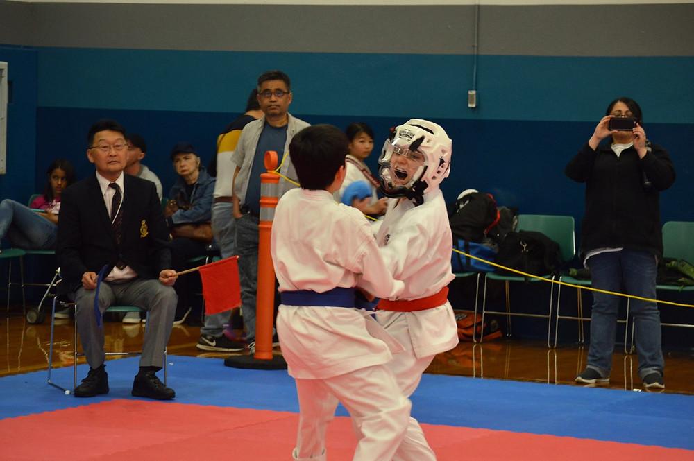 Kumite match