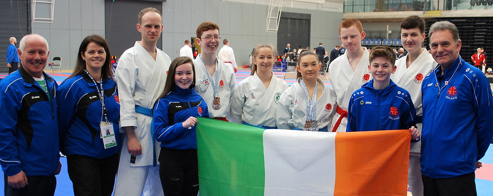 Itosu-kai Ireland competes at the Scotish Open Karate Championships