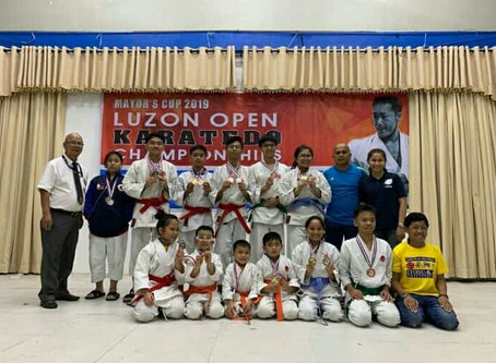 Itosu-kai Philippines Clinched Several Medals on Three Invitational Tournaments
