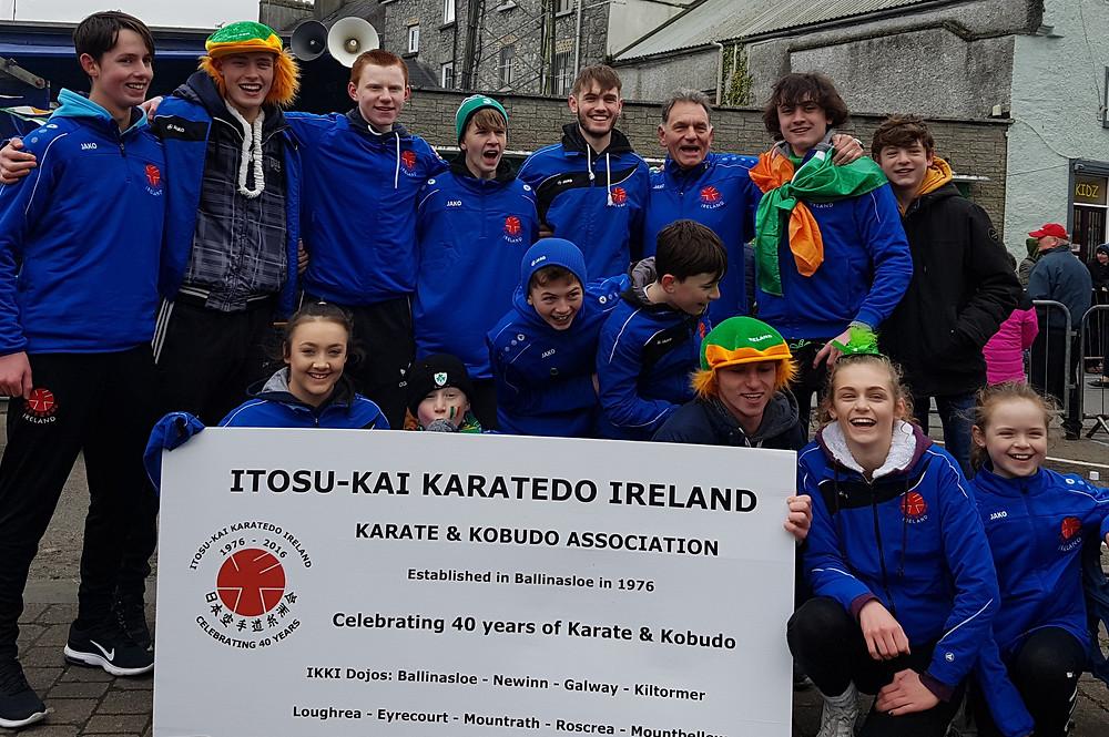 St. Patricks Day Parade1 Itosu-kai Ireland