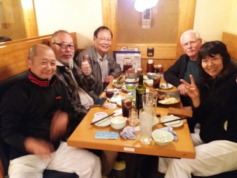 Sensei C. Hunter with members of Itosu-kai Hodogaya branch