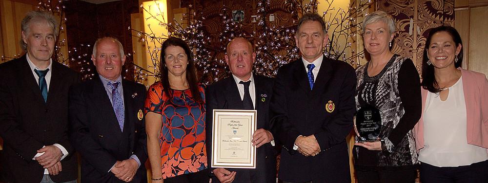 Itosu Kai Ireland award ceremony