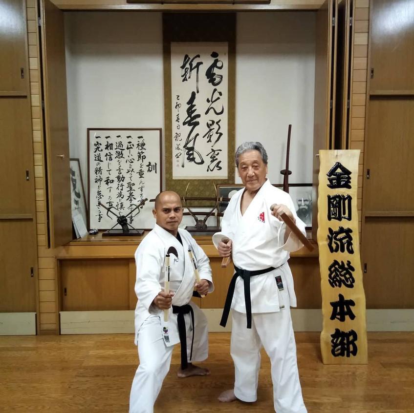 With Soke Sakagami